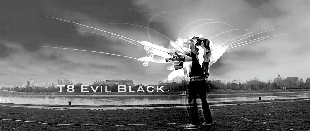 T8 Evil Black - Welcome to the dark side